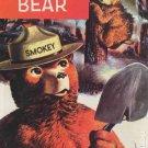 SMOKEY BEAR COMIC + SMOKEY BEAR POSTCARD
