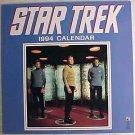 "STAR TREK 1994 CALENDAR 12"" x 12"" NEW SEALED"