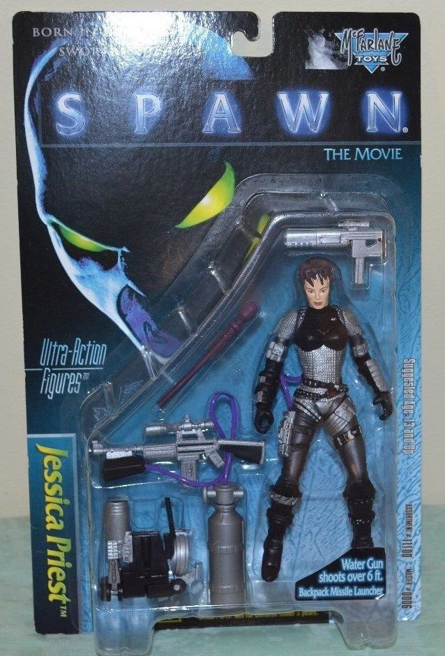 SPAWN JESSICA PRIEST ULTRA ACTION FIGURE NIP 1997
