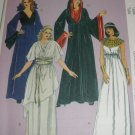 McCall's 5733 Egyptian Goth Costumes Misses 8-10-12-14-16 OOP