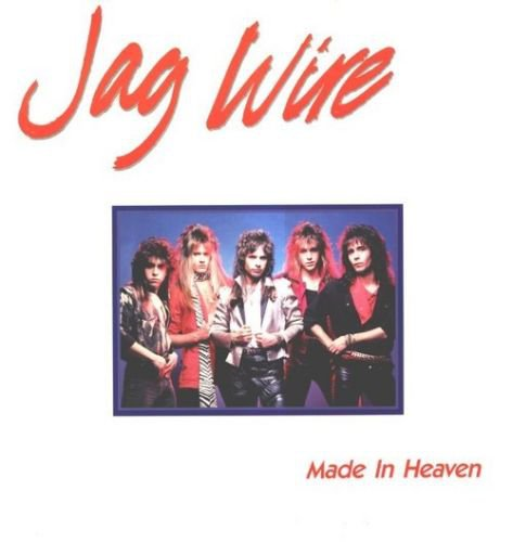 JAG WIRE Made In Heaven Cassette 1985 TEC 1346