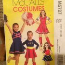 McCall's 5727 CHEERLEADER WONDER WOMAN 3-4-5-6 OOP