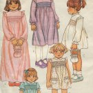 McCall's 7313 SMOCKED DRESS BAG TRANSFERS 2 Toddler New OOP