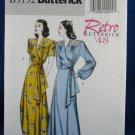 Butterick 5152 Retro '48 Robe Belt  Misses 8-14 OOP