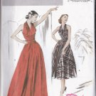 Butterick 4919 Retro '52 Halter Dress Misses 6-8-10-12 OOP