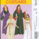 McCalls 5733 Egyptian Goth Costumes Misses 18W-20W 2008