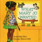 WHAT MARY JO WANTED Scott Foresman Special Edition 1968