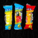 PEZ DISPENSERS LUCY WOODSTOCK GARFIELD New in Packages 1990s