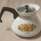 CORNING WARE SPICE OF LIFE 6 Cup Teapot P 104
