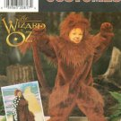 Simplicity 7825 WIZARD OF OZ COWARDLY LION COSTUME 3-8 OOP
