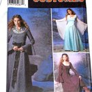 SIMPLICITY 9891 RENAISSANCE DRESS COSTUME Misses 14-20 OOP