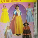 McCall's 2856 Storybook Characters Rupunzel, Cinderrella Snow White 10 12 14 Uncut