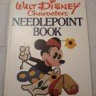 Walt Disney Characters NEEDLEPOINT BOOK 1976 Lisbeth Perrone