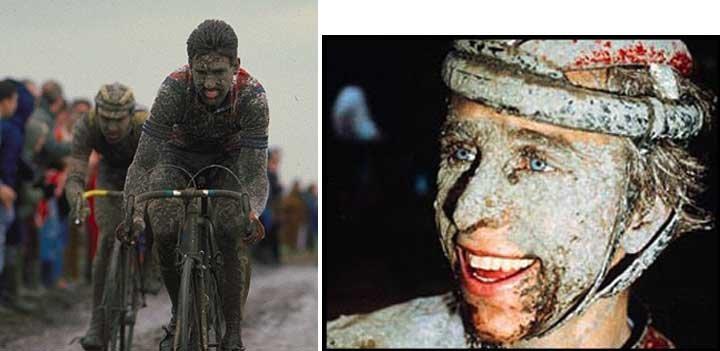 I Love the 80's Cycling DVD -  PARIS ROUBAIX 1985-1989