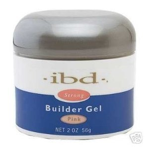 IBD UV Builder Gel Nail Tips BUILDER Pink 2oz/ 56g