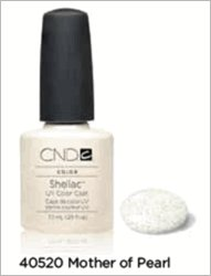 CND Shellac Nail Gel Polish Mother of Pearl