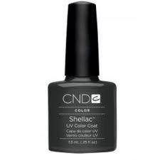 CND Shellac Nail Gel Polish Asphalt