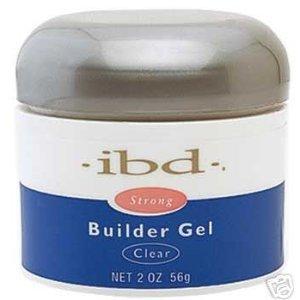 IBD UV Builder Gel Nail Tips BUILDER Clear 2oz/ 56g