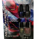 OPI Nail Polish Lacquer Spider Man mini collection