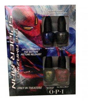 OPI Nail Polish Lacquer Spider Man mini collection