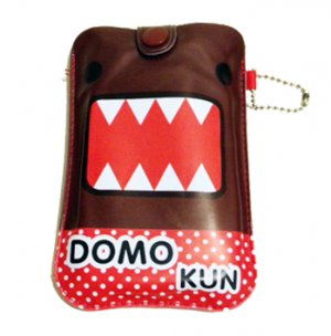 PU Leather Domo Protective Pouch Bag Case for iPhone HTC Samsung Mobile Phone