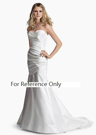 Sweet heart mermaid wedding gown-WG869