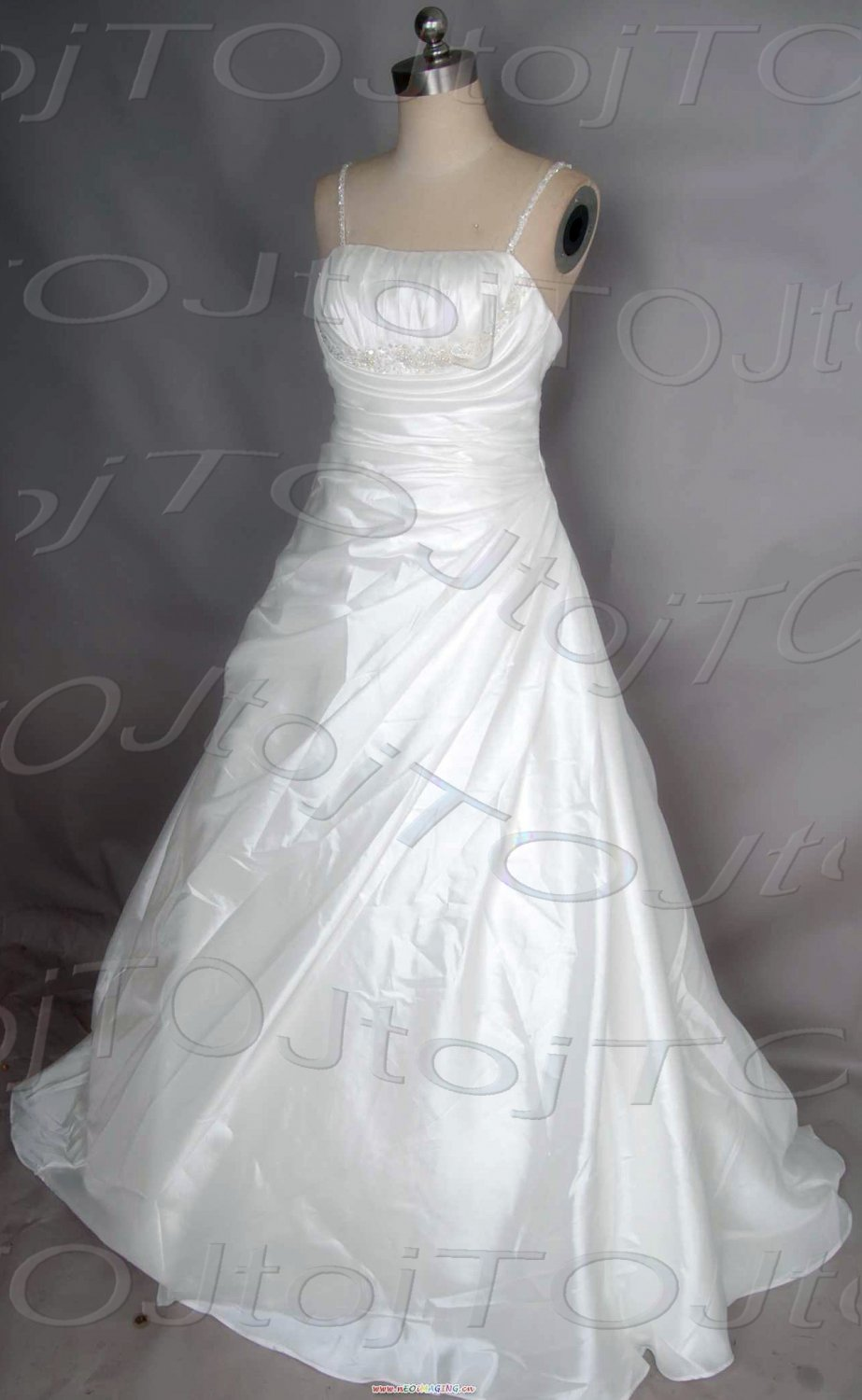 A-line wedding gown-DWG0937
