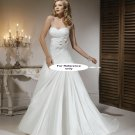 Sweet heart A-line wedding gown-1413