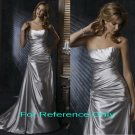Strapless A-line wedding gown-1380
