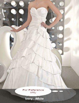 Sweet heart A-line wedding gown-WG809