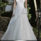 Sweet heart A-line wedding gown-WG812
