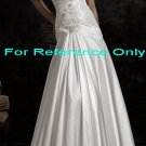 Strapless mermaid wedding gown-WG817