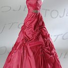Strapless ball evening dress-P4513