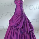 Strapless ball evening dress-P4514