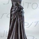 Strapless A-line evening dress-P5521