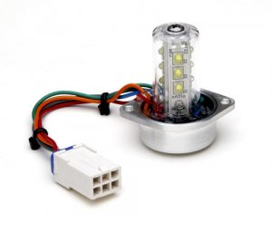 Whelen 2 Head Hide-A-Way LEDs - Clear