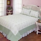 4pcs white color bedding set AY-1107