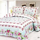 4pcs sapphire floral bedding set AY-1116