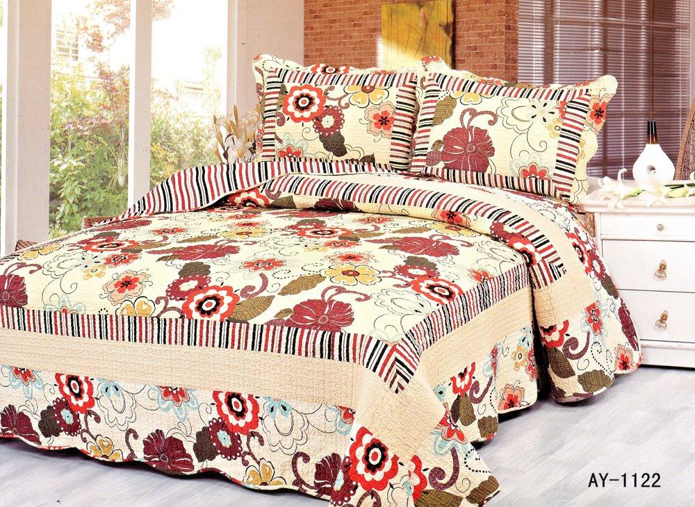 4pcs floral bedding set AY-1122