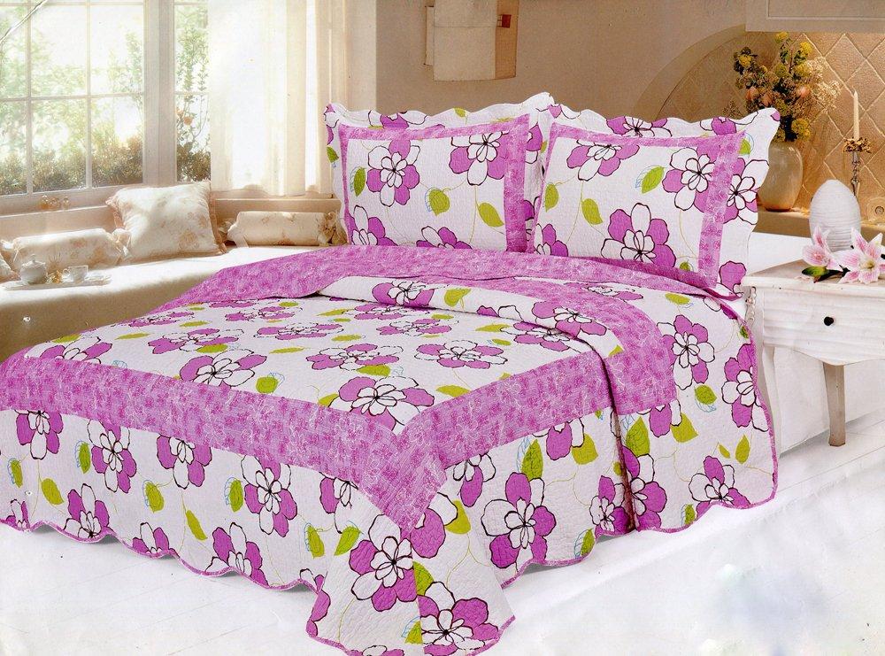 4pcs Ame floral bedding set AY-1157