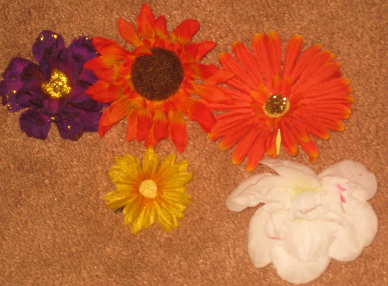 5 Flower Clip