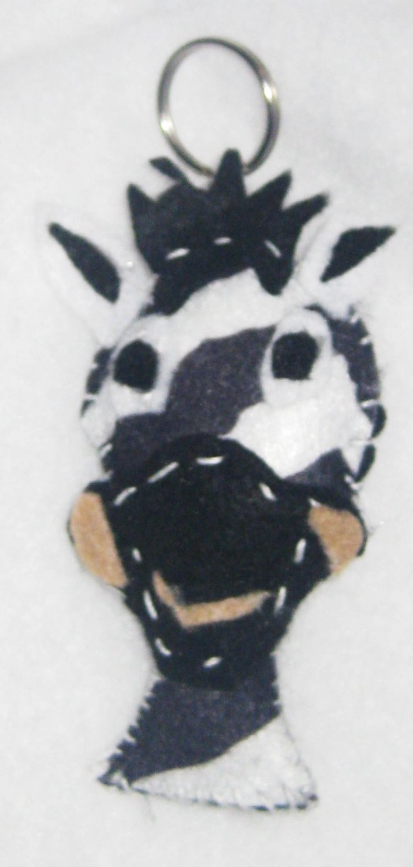 zebra key chain