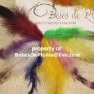 10 for 6$ GRIZZLY ROOSTER FEATHERS for Hair Extensions pink-blue-green-orange-purple Long and Short