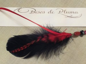 Pick YOUR OWN Feather Types & Colors SPORTS TEAMS-School Spirit-CUSTOM FEATHER HAIR EXTENSION