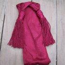 civil war maroon wool or silk sash