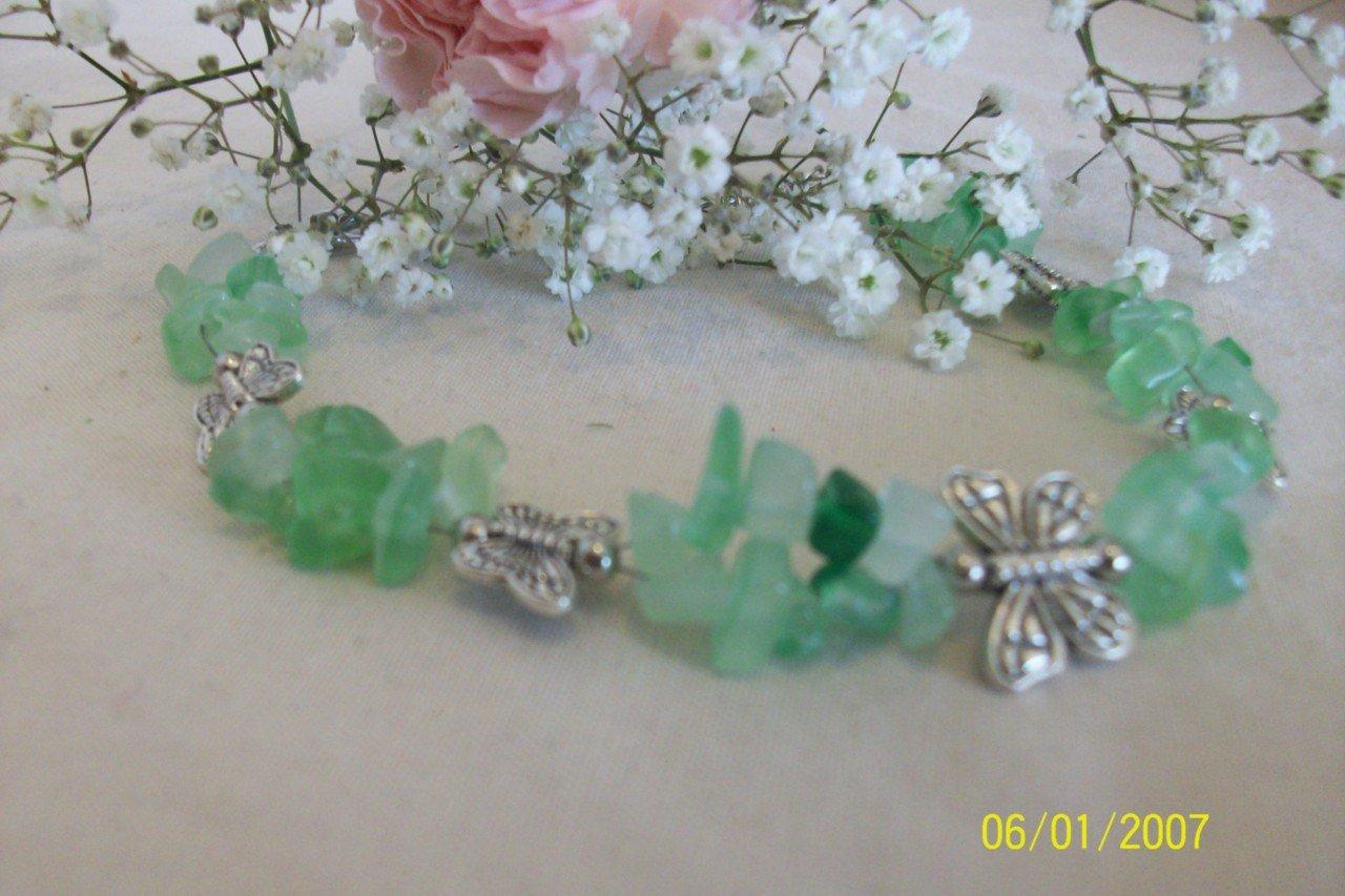 Beautiful REALGem Stones and TibetanSilver bracelets