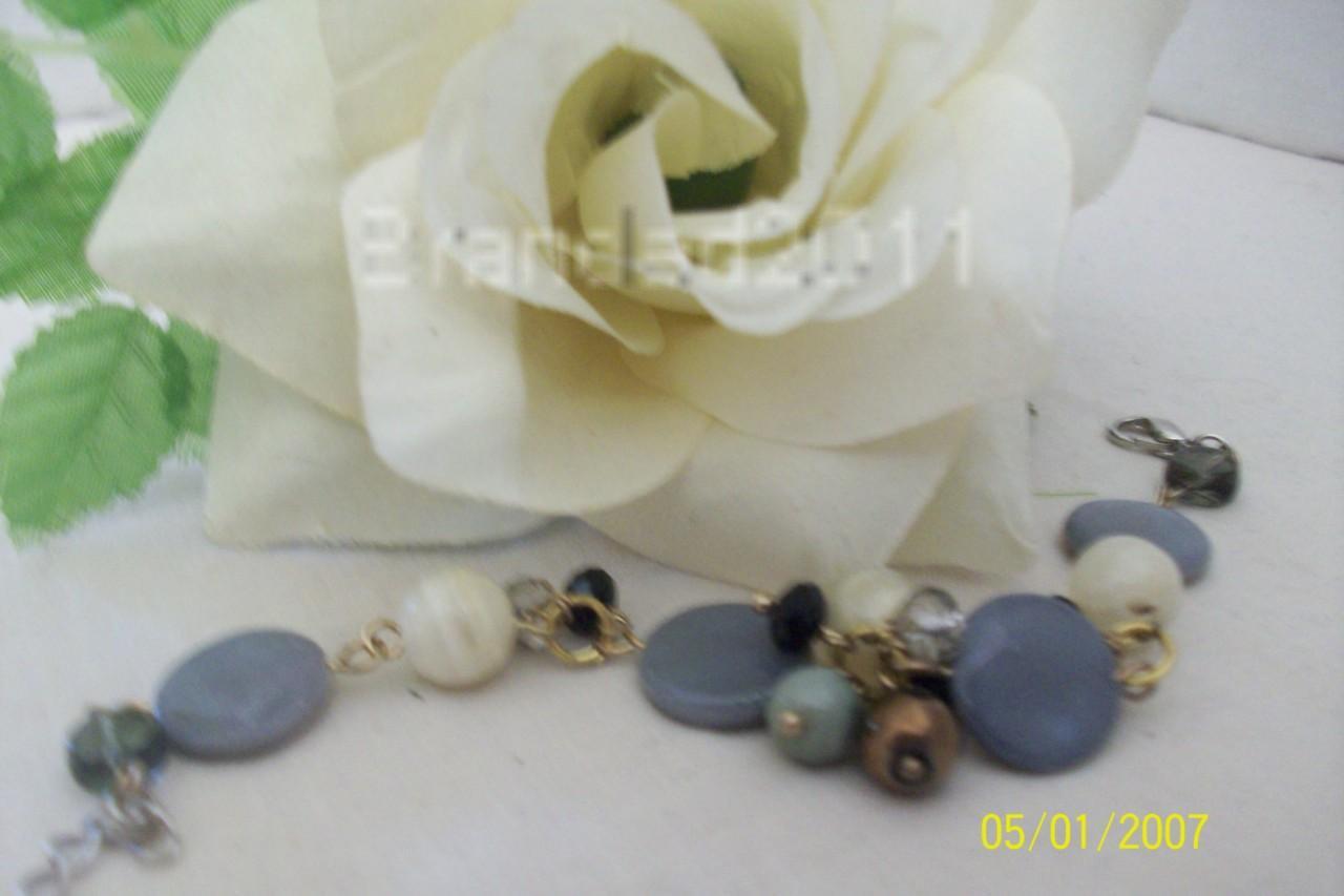 Tibetan Silver Gemstone Bracelet