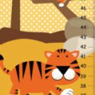 Personalized Canvas Leopard Growth Charts