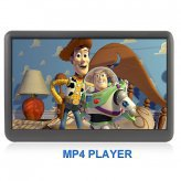 The Bomb - 8GB MP6 Player with 4.3 Inch Touchscreen LCD