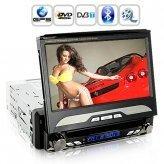 King Viper In Dash Car DVD (1DIN GPS Swivel Detach HD Screen DVBT)